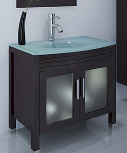 Ludwig 36 Single Bathroom Vanity Set by JWH Living