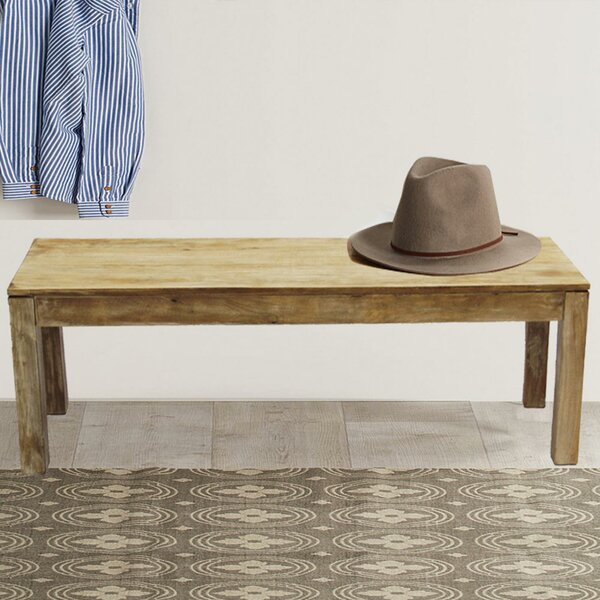 Urban Port Wood Bench by Woodland Imports
