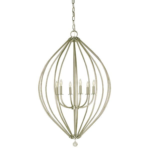 Pariaman 6 - Light Lantern Geometric Chandelier By Alcott Hill
