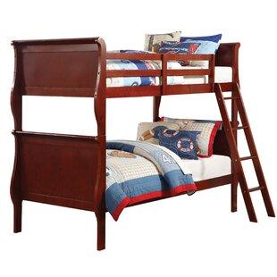 Best Review Lunada Twin Over Twin Bunk Bed ByHarriet Bee