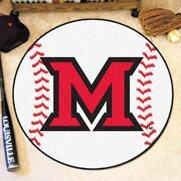 NCAA Miami University (OH) Baseball Mat by FANMATS