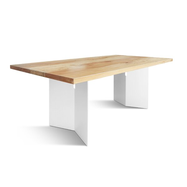 Becton Solid Wood Dining Table by Foundry Select