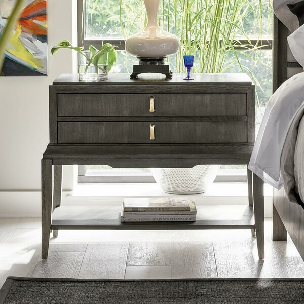 Fusion Harmony 2 Drawer Nightstand by Fine Furniture Design