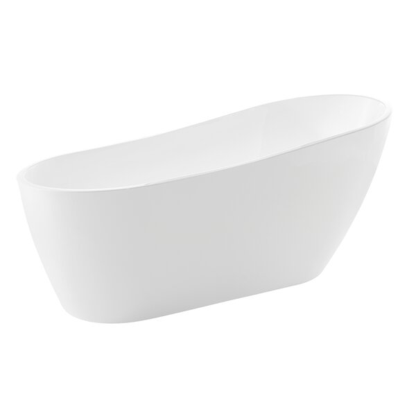 Trend Series 67'' x 31.5'' Freestanding Soaking Bathtub by ANZZI