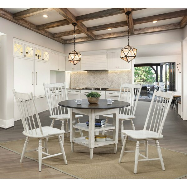 Harriet 5 Piece Drop Leaf Dining Set by Gracie Oaks