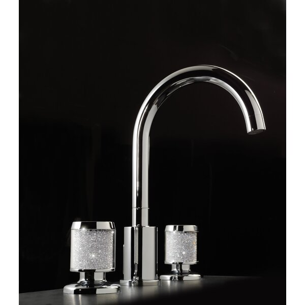 Starlight 3-Hole Widespread Bathroom Faucet with Drain Assembly