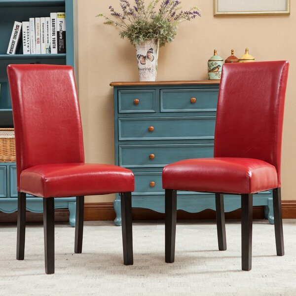 Metrodora Upholstered Dining Chair (Set of 2) by Red Barrel Studio