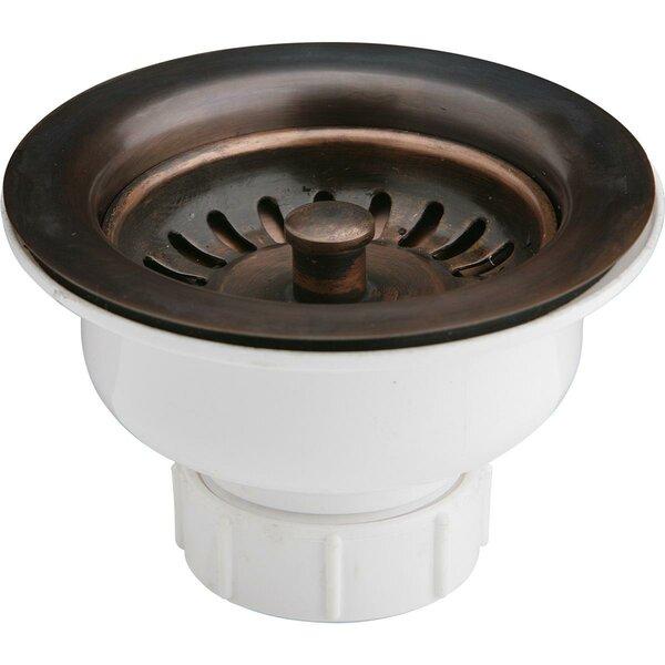 3.5 Pop-Up Kitchen Sink Drain by Elkay