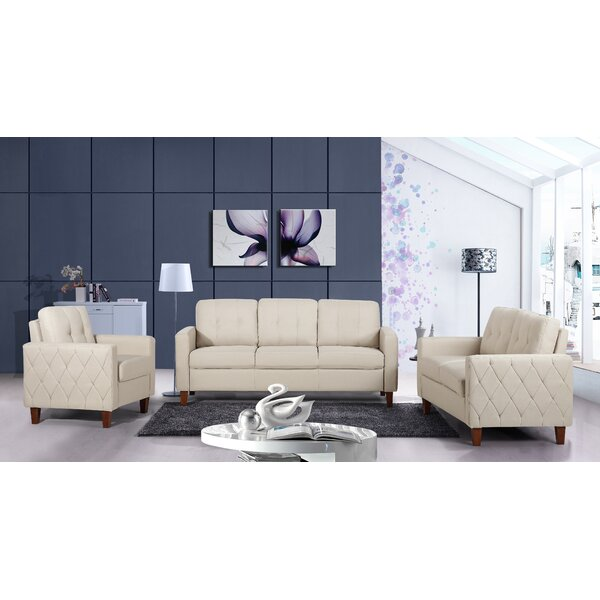 Castello 3 Piece Living Room Set by Winston Porter