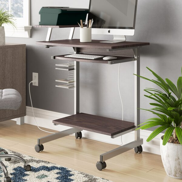 Space Saving Computer Desk by Symple Stuff