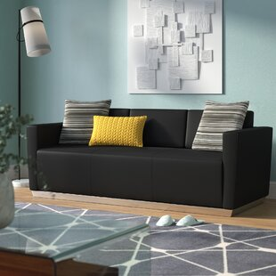 Hypnos Leather Sofa