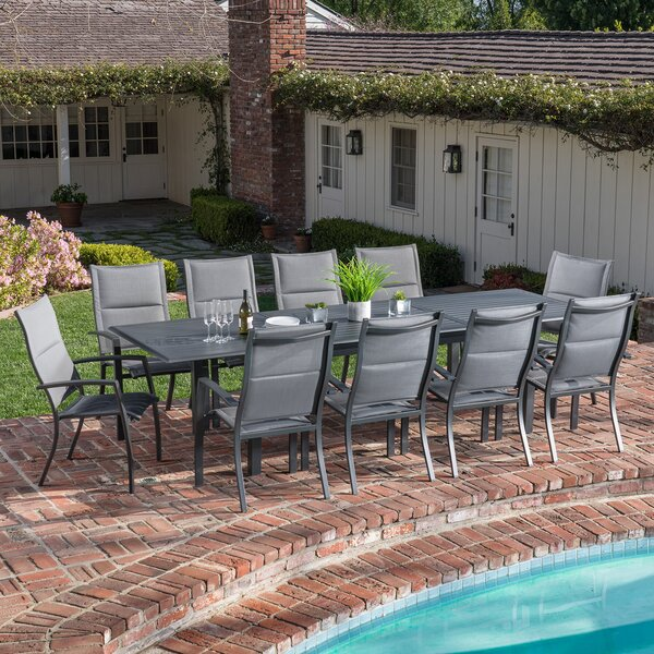 Rashon 11 Piece Dining Set by Latitude Run Latitude Run