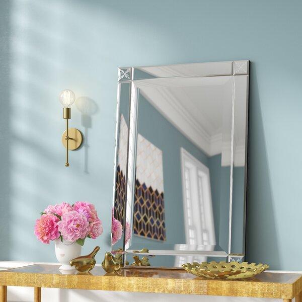 Contemporary Rectangle Wall Mirror by Willa Arlo Interiors