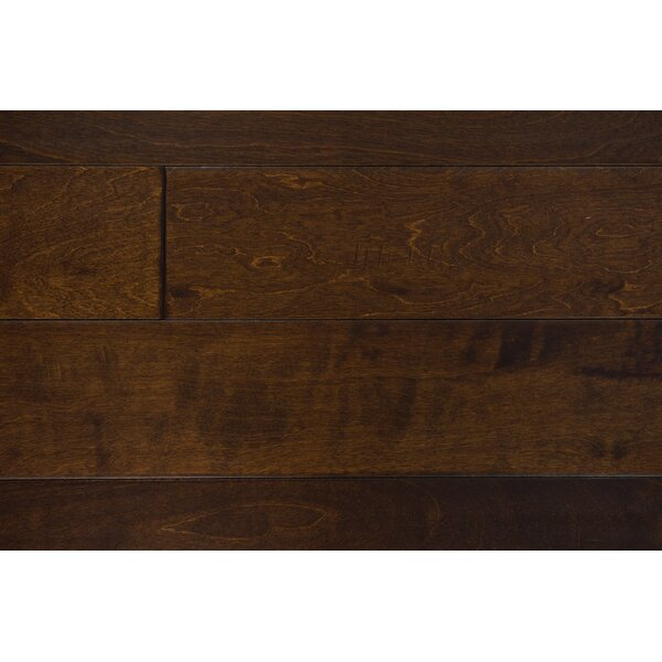 Helsinki 5 Engineered Birch Hardwood Flooring in Coffee by Branton Flooring Collection