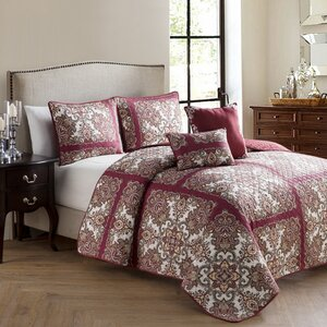 Cahill 5 Piece Quilt Set