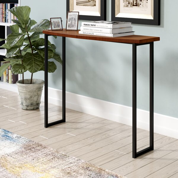 Lamons 39' Solid Wood Console Table by Williston Forge Williston Forge