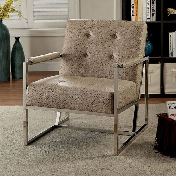 Scarlette Contemporary Armchair by Everly Quinn