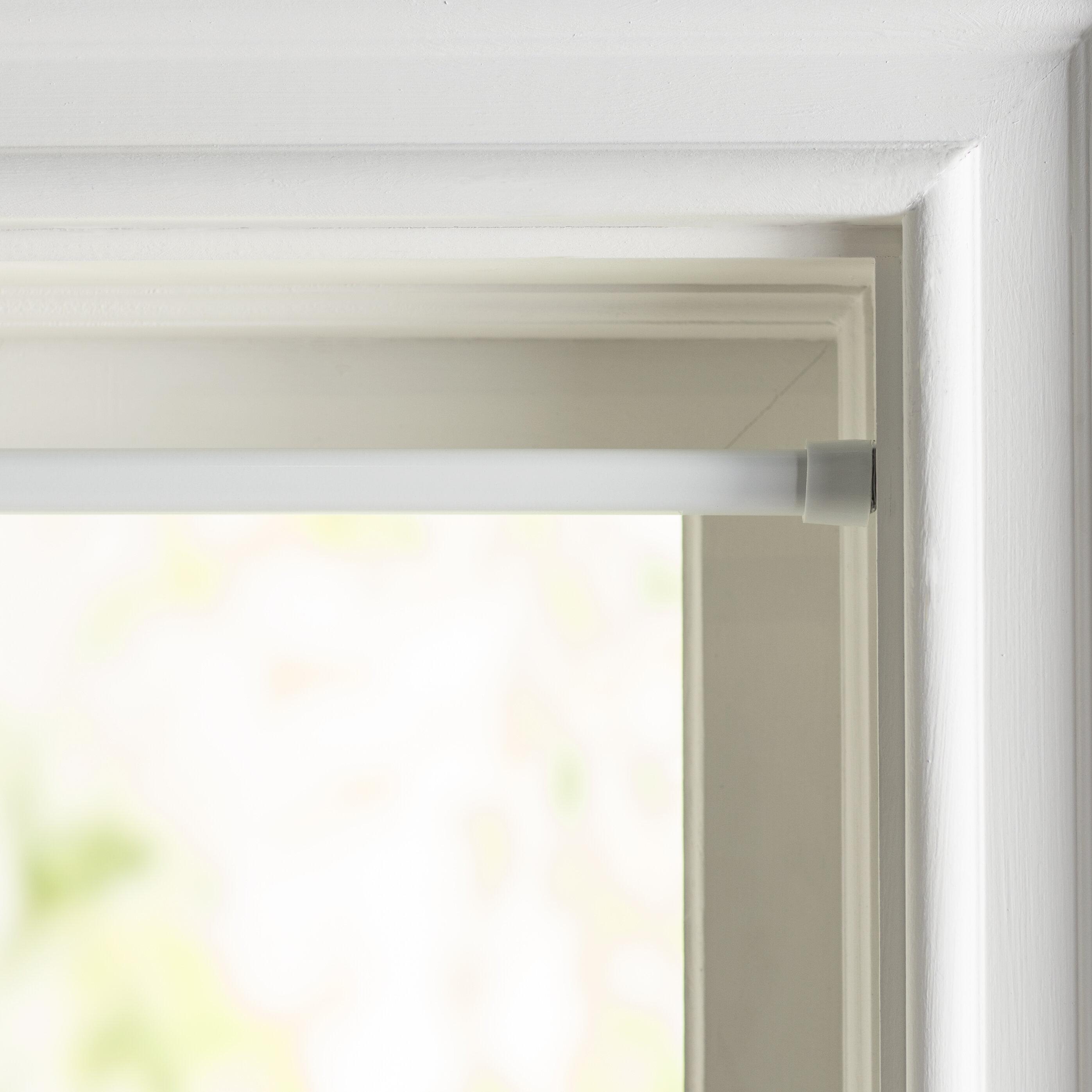Wayfair Basics Oval Spring Curtain Tension Rod