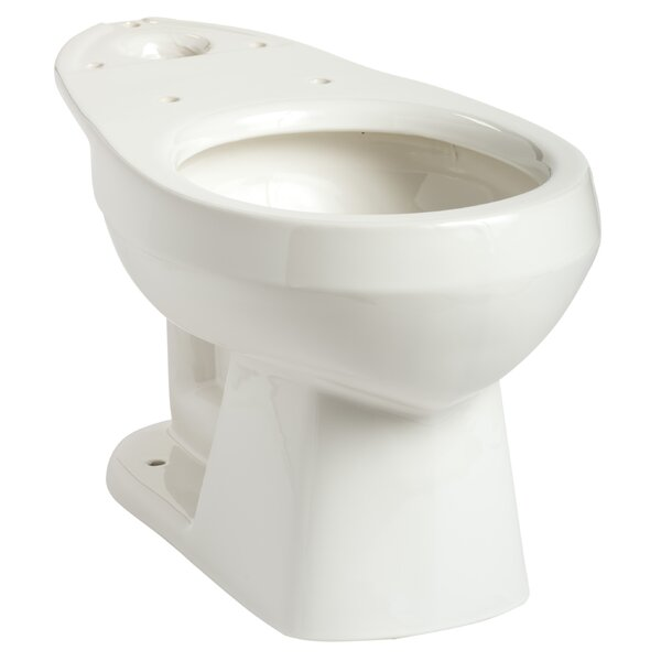 Quantum 1.28 GPF Round Toilet Bowl by Mansfield Plumbing Products