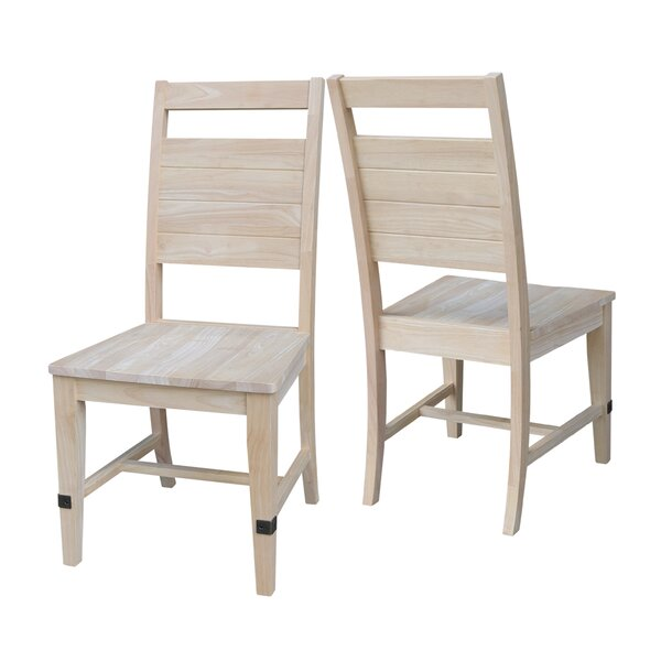 Dabney Solid Wood Dining Chair (Set of 2) by Gracie Oaks