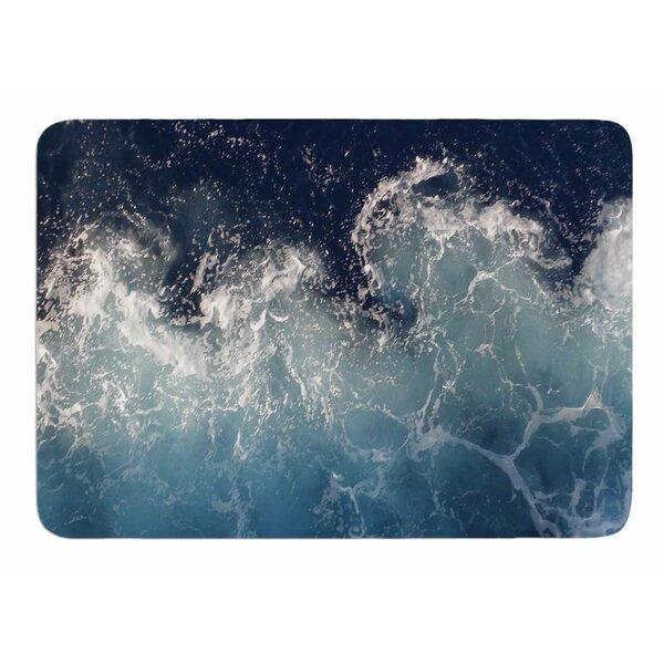 Sea Spray by Suzanne Carter Memory Foam Bath Mat by East Urban Home