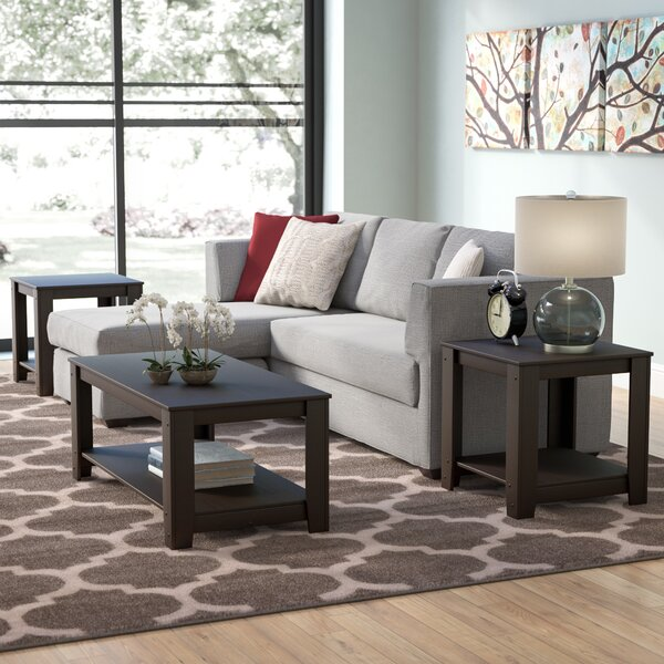 Streator 3 Piece Coffee Table Set By Andover Mills