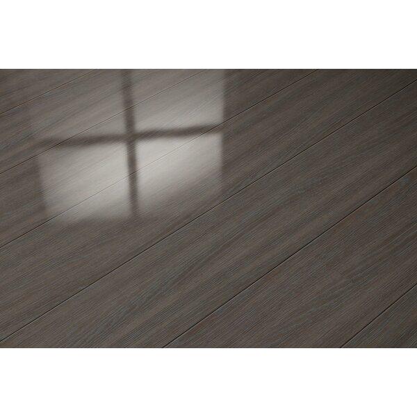 7 x 47 x 8mm Oak Laminate Flooring in Brown by ELESGO Floor USA