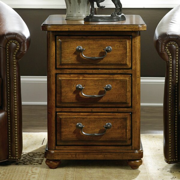 Tynecastle End Table with Storage by Hooker Furniture