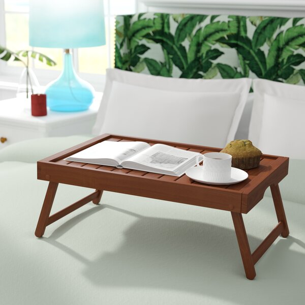 Hartnett Eco Acacia Wood Breakfast Tray by Bayou Breeze