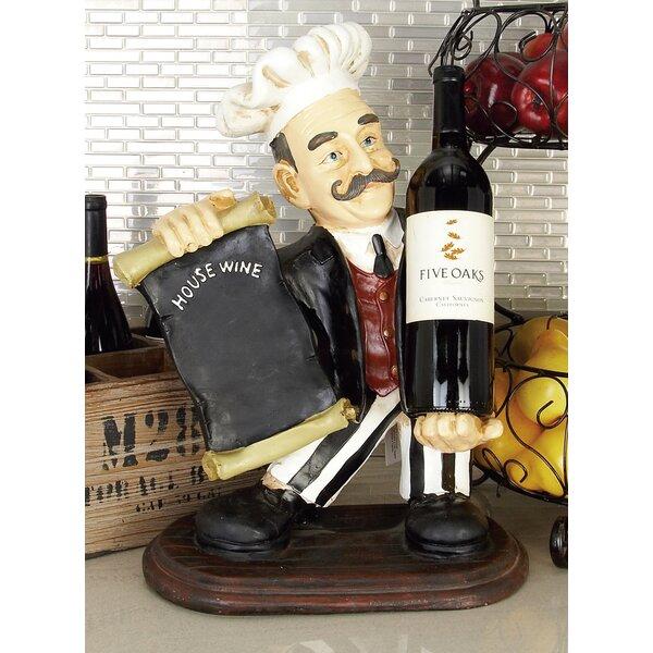 Moreira Chef 1 Bottle Tabletop Wine Bottle Rack by Charlton Home Charlton Home
