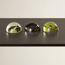 Set of 3 Decorative paper weight combiners