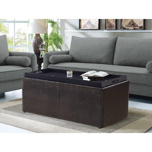 Makela 3 Piece Faux Leather Storage Bench Set by Ebern Designs