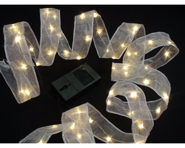 54 Light String Lights with Timer (Set of 2) by The Holiday Aisle