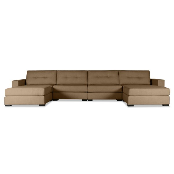 Brose Symmetrical Modular Sectional by Brayden Studio Brayden Studio