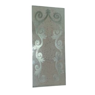 Ophelia & Co. Levant Deco Etched Glass Accent Mirror