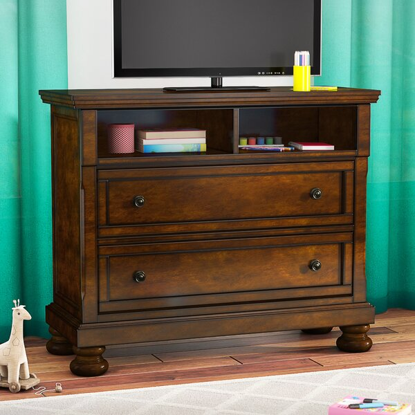 Rosamaria 2 Drawer Media Chest by Astoria Grand