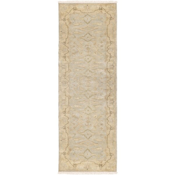 Talence Hand-Knotted Gold Area Rug by One Allium Way
