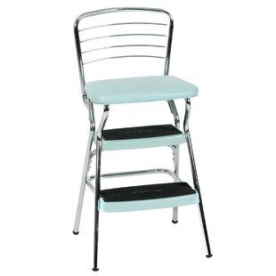 Peachy Thorson 3 Step Steel Step Stool Bralicious Painted Fabric Chair Ideas Braliciousco