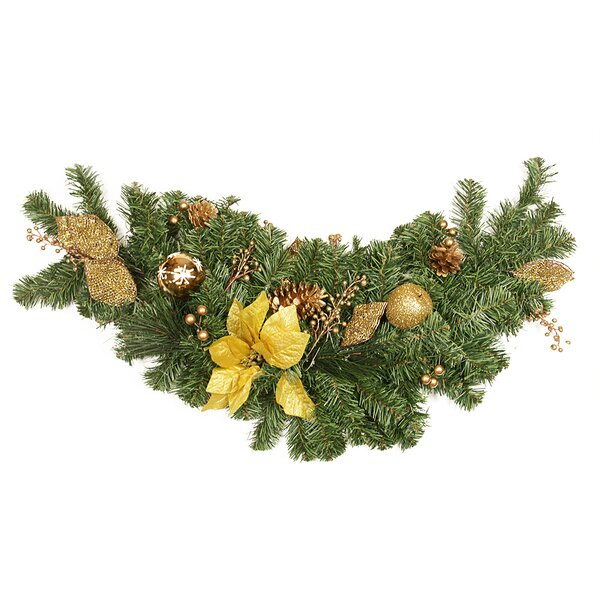 Pre Decorated Apple and Berry Artificial Christmas Swag by Northlight Seasonal