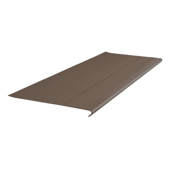 42 Vinyl Rib Round Nose Stair Tread by ROPPE
