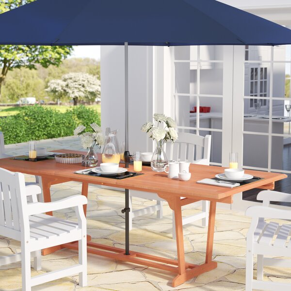 Goolsby  Rectangular Extension Dining Table by Darby Home Co