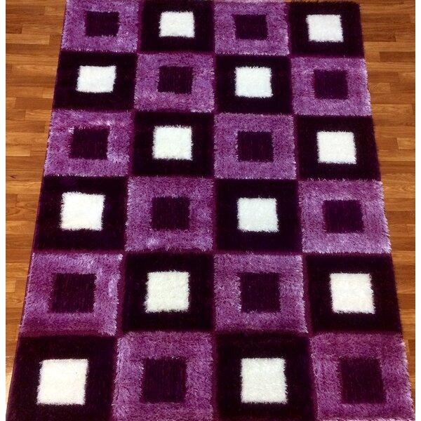 Gloria Purple Area Rug by Bekmez International Inc.
