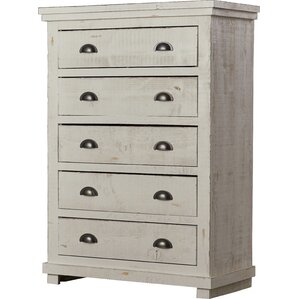 Amazing Castagnier 5 Drawer Chest