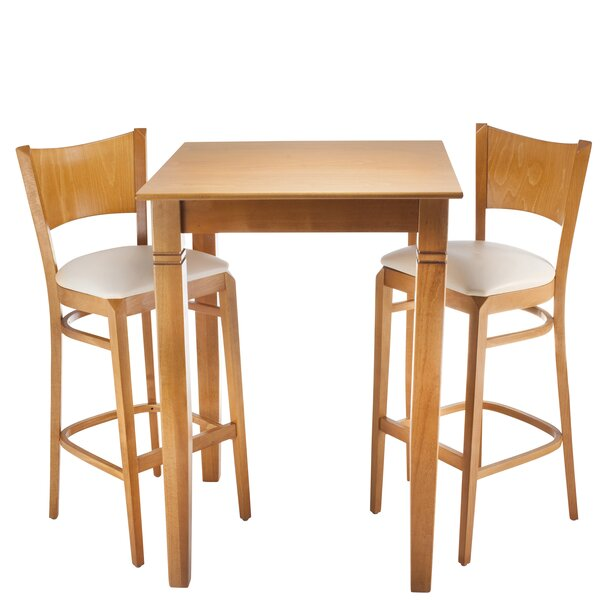 Earleville 3 Piece Pub Table Set by Darby Home Co