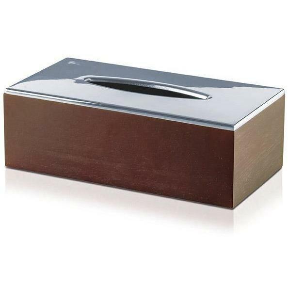 Gentner Combo Natural Wood Tissue Box Cover by Orren Ellis