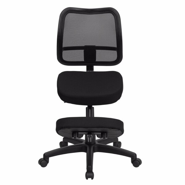 Mid-Back Mesh Kneeling Chair by Offex
