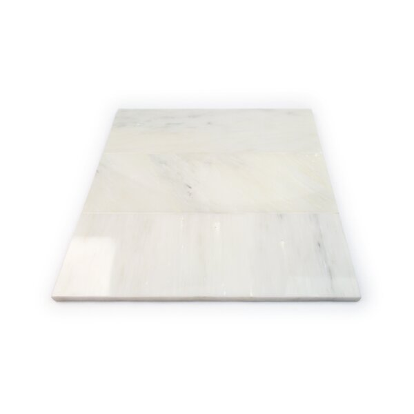 4 x 12 Marble Subway Tile in Crema Marfil by Splashback Tile