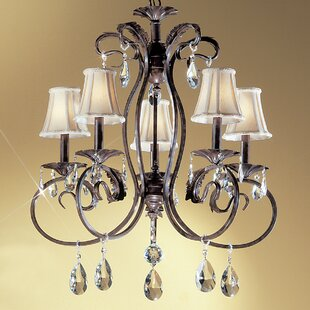 Manilla II 5-Light Shaded Chandelier By Classic Lighting
