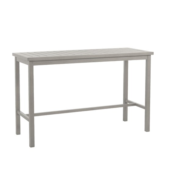 Club Metal Bar Table by Summer Classics
