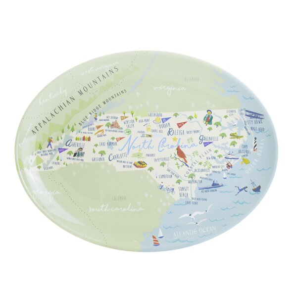 Minnie Melamine Platter by Winston Porter